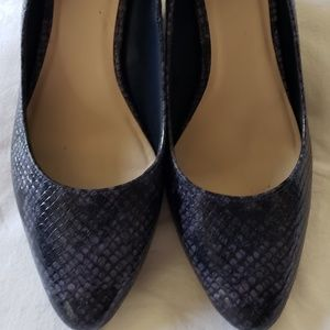 Cole Haan | NWOT Reptile Skin Wedge Shoes 8B